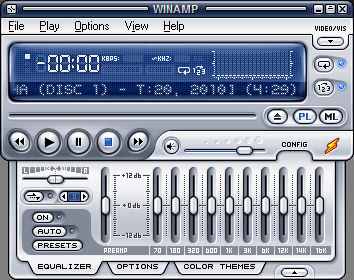 Separate Winamp Now Playing / History Page Created | Mark Headrick's