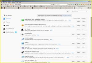 Firefox 57 Beta Appearance