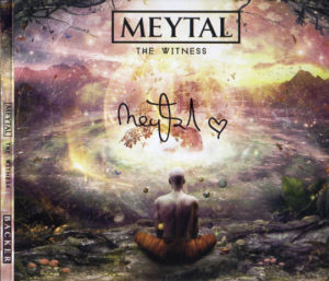 Meytal - Witness, Backer CD Front Cover